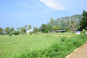 Beautiful 10 Rai Land only 800 m from Pak Nam Pran Beach behind Forest Park