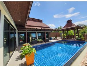 Bali Style Spacious 2 Bedroom Sea View Pool Villa near Beautiful Sai Noi Beach
