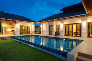 4 Bedroom Pool Villa in Popular Hillside Hamlet Project (completed, fully furnished)