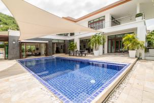Modern Bali Style 2 Storey 4 Bed Pool Villa with Sea and Mountain View