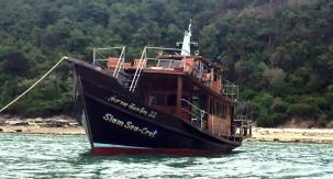 . Pranburi - samroiyod fishing cruise