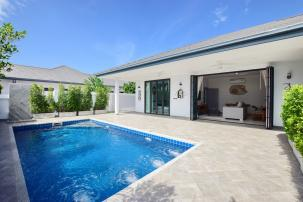 Newly Completed Cozy 3 bedroom pool villa only 10 min from town (newly completed, fully furnished)