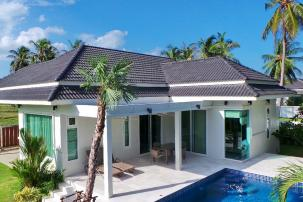 High Quality Modern Pool Villa only 800 m from Dolphin Bay Beach