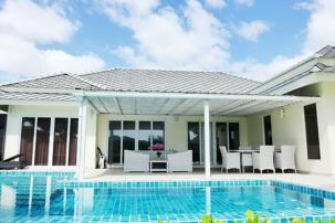4 BDRM Pool Villa Right on Black Mountain Golf Course (Completed, Fully Furnished)