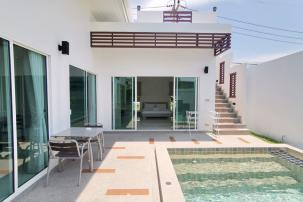 Modern 2 Bedroom Pool Villa in Completed Project Near Sai Noi Beach