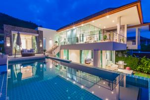 Stylish 5 BDRM Villa with Sea View near Sai Noi Beach (Off Plan)